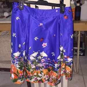 Beautiful fruit inspired skirt worn once